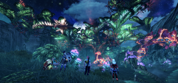 Xenoblade Chronicles X - E3 2015 - Hi Res Night
