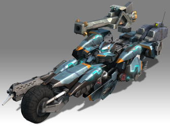 Xenoblade Chronicles X - E3 2015 - Hi Res Skell 2