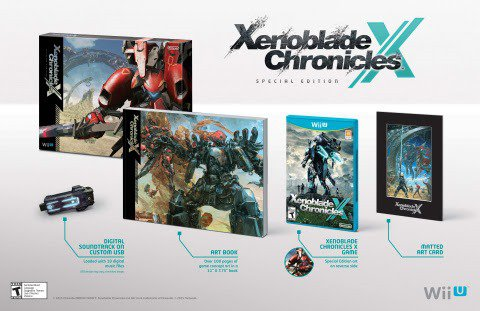 Xenoblade Chronicles X - NA LE