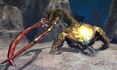 Monster Hunter 4 Ultimate Beasts - Desert Seltas Queen - Claw