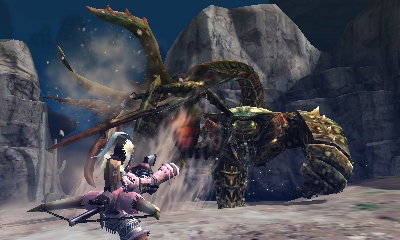 Monster Hunter 4 Ultimate Beasts - Desert Seltas Queen - Fishing