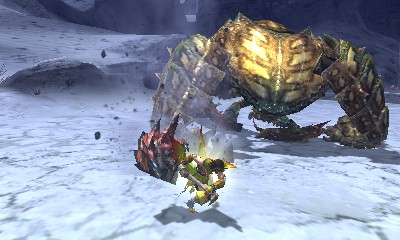 Monster Hunter 4 Ultimate Beasts - Desert Seltas Queen - Walking