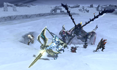 Monster Hunter 4 Ultimate Beasts - Nerscylla Subspecies - Jaw