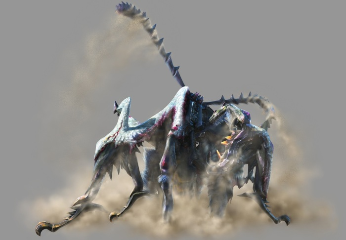 Monster Hunter 4 Ultimate Beasts - Nerscylla Subspecies - Render