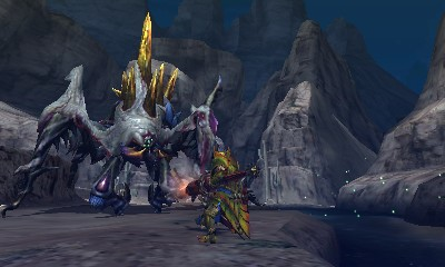 Monster Hunter 4 Ultimate Beasts - Nerscylla Subspecies - Standing