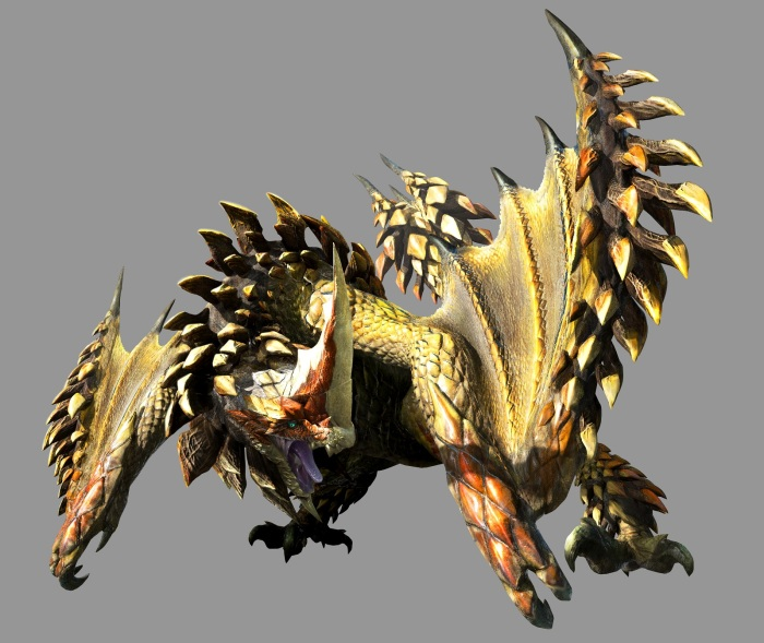 Monster Hunter 4 Ultimate Beasts - Seregios - Angry Pinecone
