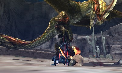 Monster Hunter 4 Ultimate Beasts - Seregios - Stomp