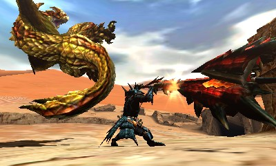 Monster Hunter 4 Ultimate Beasts - Seregios - Swoop