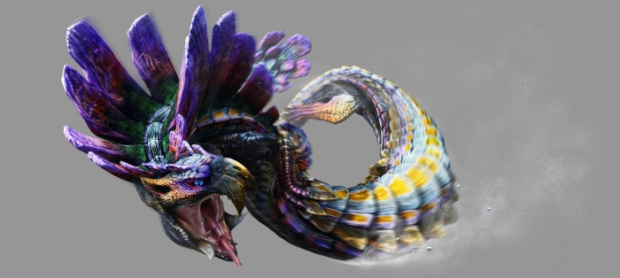 Monster Hunter 4 Ultimate Beasts - Tidal Najarala - Render
