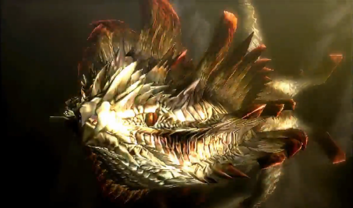 Monster Hunter 4 Ultimate Beasts - Dalamadur Subspecies - Face