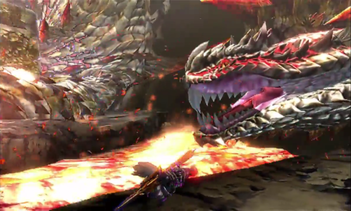 Monster Hunter 4 Ultimate Beasts - Dalamadur Subspecies - Lava