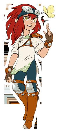 Monster Hunter Stories - 15-09-03 - Character Boy Friend