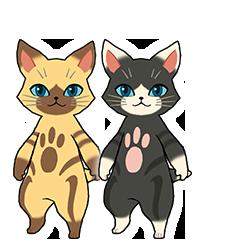 Monster Hunter Stories - 15-09-03 - Character Felyne & Melynx