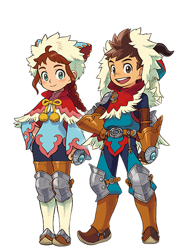 Monster Hunter Stories - 15-09-03 - Character Protagonist