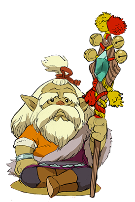 Monster Hunter Stories - 15-09-03 - Character VIllage Elder