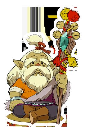 Monster Hunter Stories - 15-09-03 - Character VIllage Elder