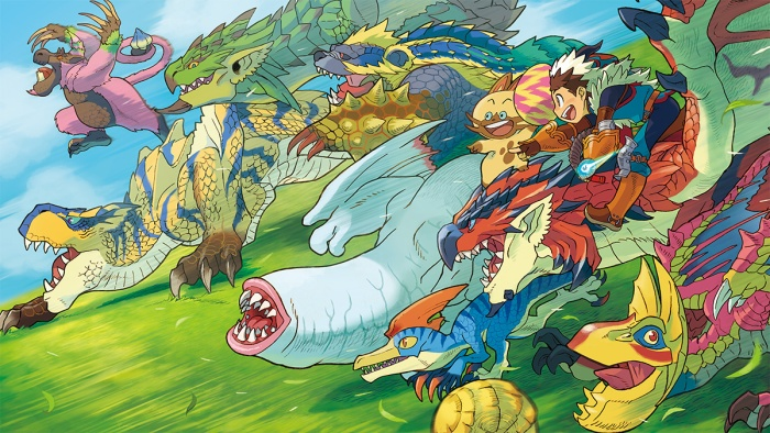 Monster Hunter Stories - 15-09-03 - Website Monsters