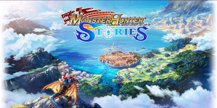 Monster Hunter Stories - Website Background