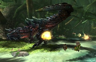 Monster Hunter Cross - 15-07-09 - Dinovaldo Screen 1