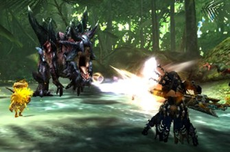 Monster Hunter Cross - 15-07-09 - Dinovaldo Screen 2
