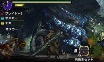 Monster Hunter Cross - 2015-07-16 - Ancient Forest Long Sword