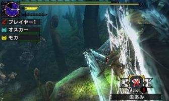 Monster Hunter Cross - 2015-07-16 - Ancient Forest Web