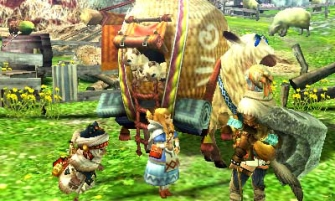 Monster Hunter Cross - 2015-07-16 - Beruna Shopkeep