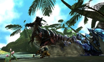 Monster Hunter Cross - 2015-07-16 - Dinovaldo Blue Tail