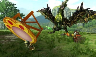 Monster Hunter Cross - 2015-07-16 - Dragonfly Trampoline