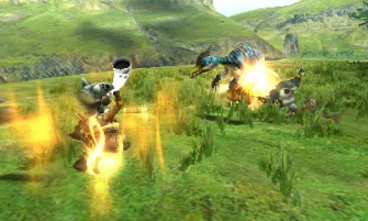 Monster Hunter Cross - 2015-07-16 - Felyne Velocidrome