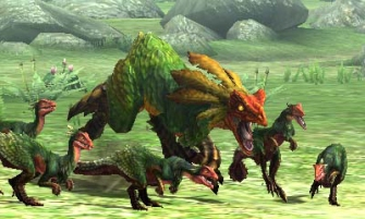 Monster Hunter Cross - 2015-07-16 - Great Maccau Pack