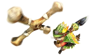 Monster Hunter Cross - 2015-07-16 - Palico Great Maccau