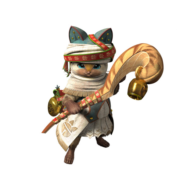 Monster Hunter Cross - 2015-07-16 - Palico