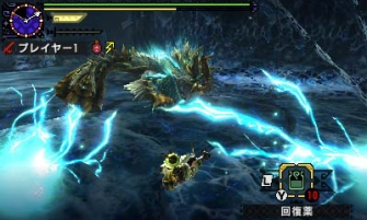 Monster Hunter Cross - 2015-07-16 - Zinogre Attack