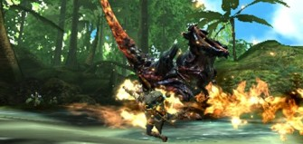 Monster Hunter Cross - 4-6-15 - Carnotaurus Fire