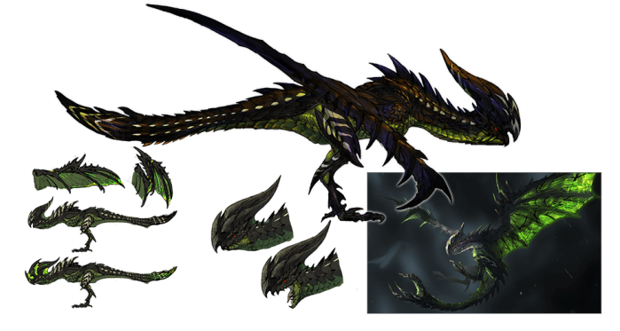 Monster Hunter Cross - 4-6-15 - Dragonfly Concept