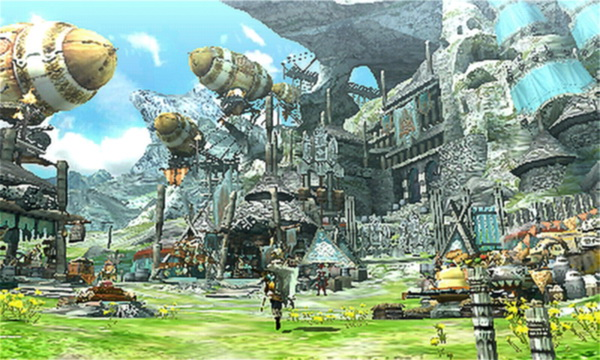 Monster Hunter Cross - Beruna Village