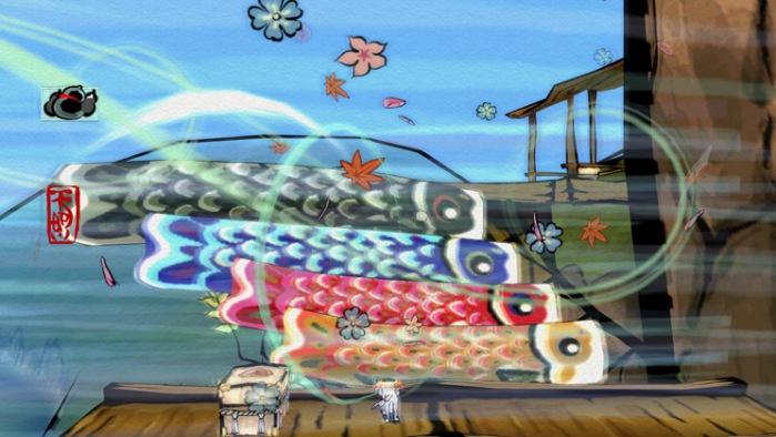 Okami HD - Wind Puzzle