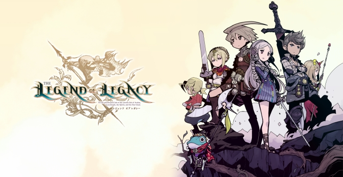 The Legend of Legacy - Logo