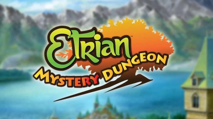 Etrian Mystery Dungeon - Logo