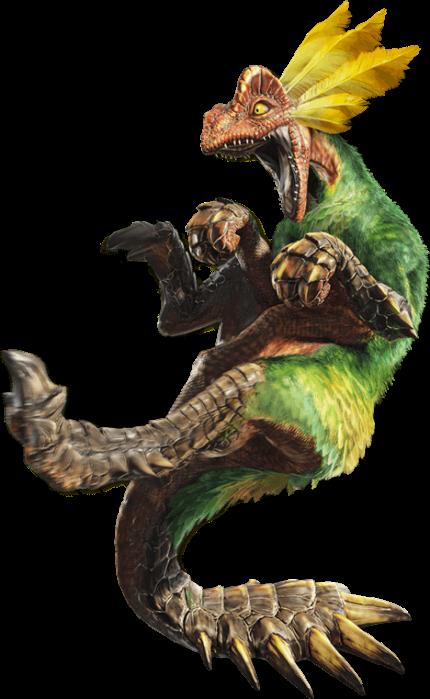 Monster Hunter X - Great Maccau Render