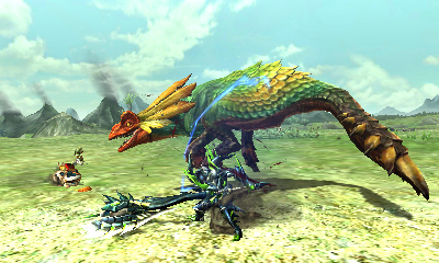 Monster Hunter X - Great Maccau Tired