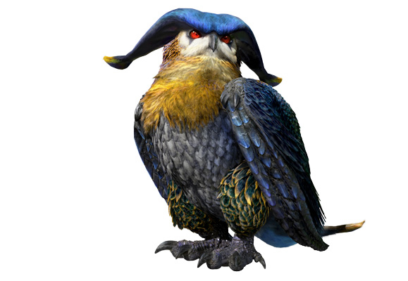 Monster Hunter X - Hororohoruru Render