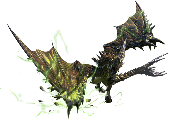 Monster Hunter X - Raizekusu Render