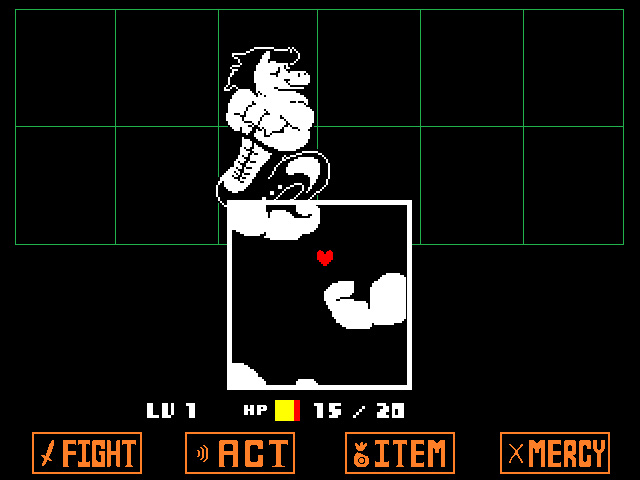 Undertale - Battle Screen