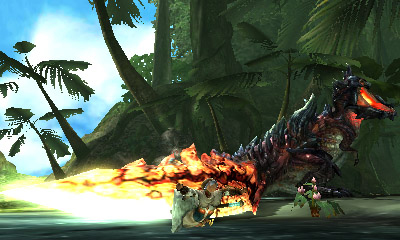 Monster Hunter X - Dinovaldo Tail Slam