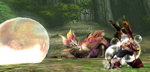 Monster Hunter X - Tamamitsune Bubbles