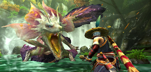 Monster Hunter X - Tamamitsune Face