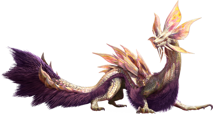 Monster Hunter X - Tamamitsune Render