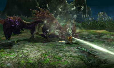 Monster Hunter X - Tamamitsune Water Beam